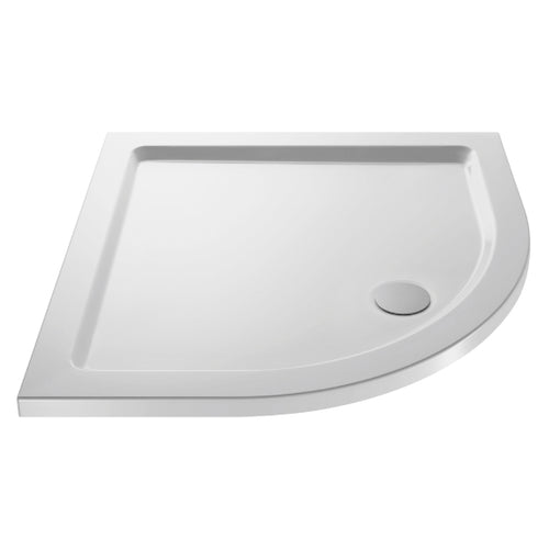 Quadrant Shower Tray with Centre Waste Outlet