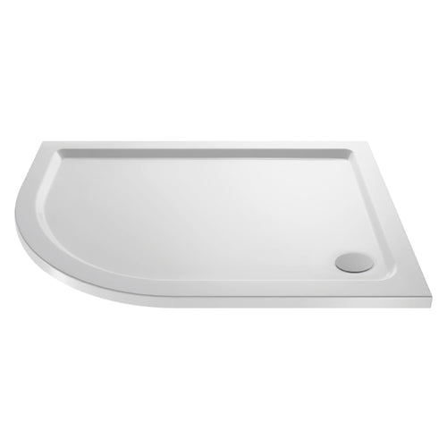 Offset Quadrant Shower Tray with Corner Waste Outlet