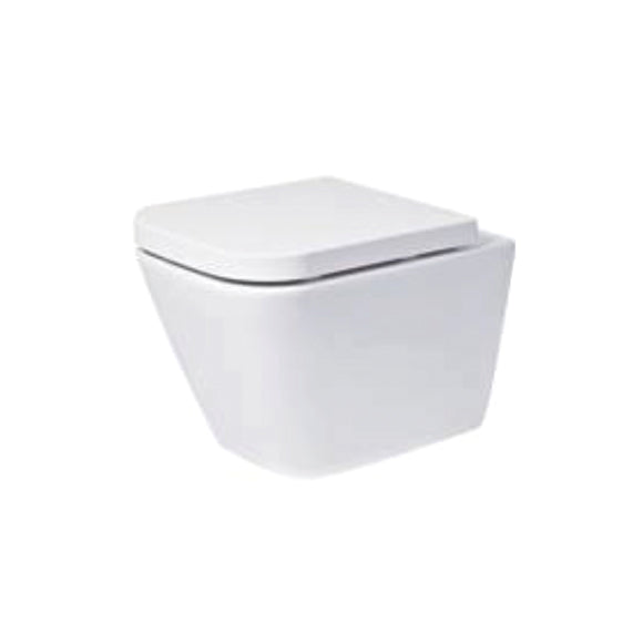 Portrush Wall Hung WC with Soft Close Seat