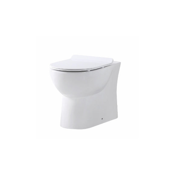 Roman Back to Wall WC with Soft Close Seat