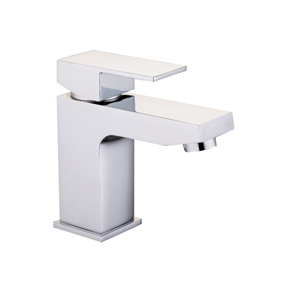 Seattle Mono Basin Mixer Tap with Domed Clicker Waste
