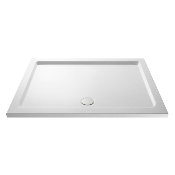 Rectangular Shower Tray with Centre Waste Outlet