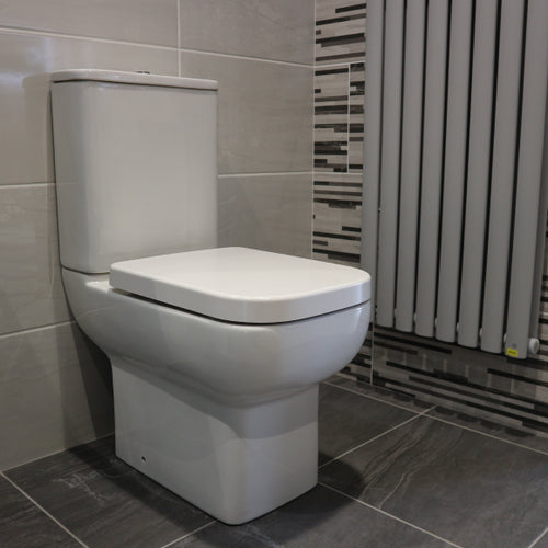 Waterville Close Coupled WC with Soft Close Seat