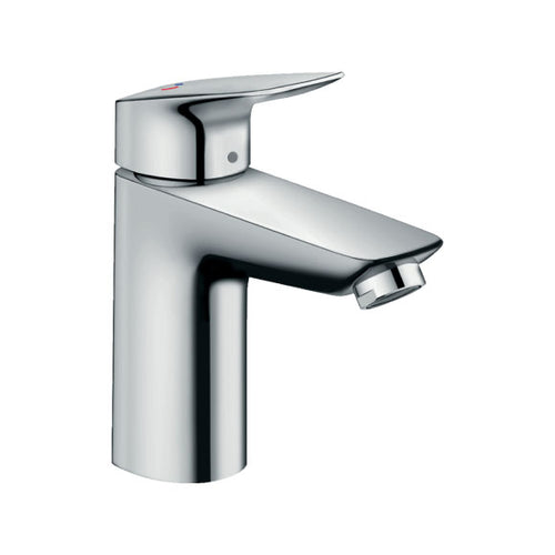 hansgrohe Logis Single lever basin mixer 100 CoolStart with pop-up waste set