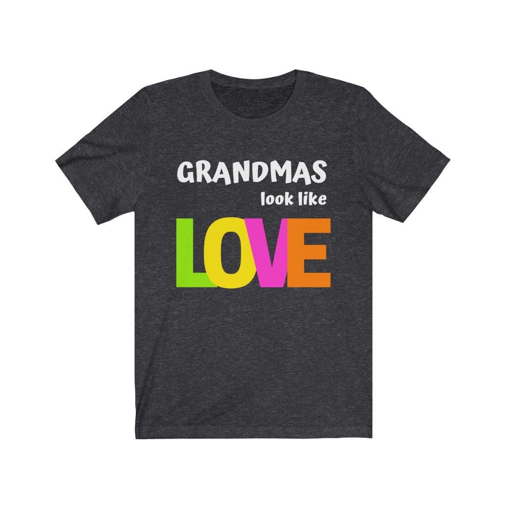 """Grandmas"" Tee - Black or Grey w/White"