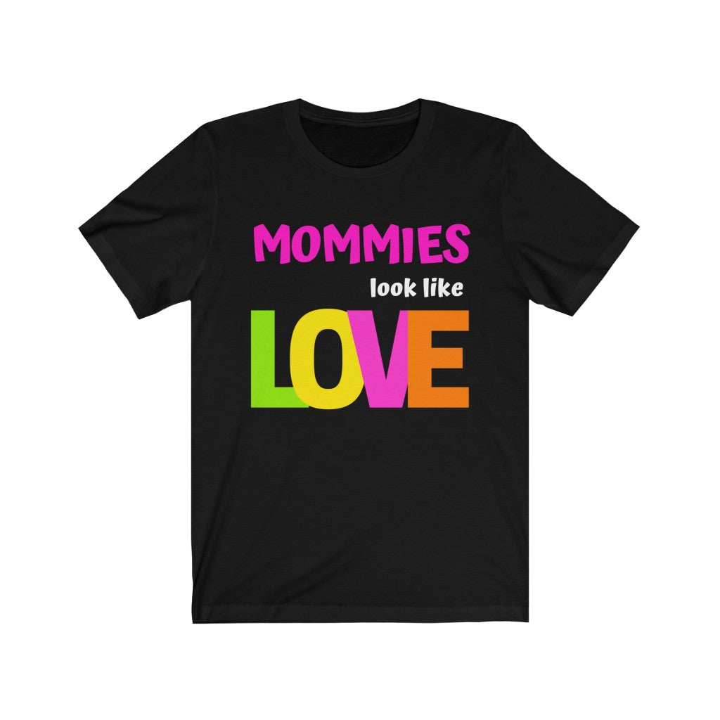 """Mommies"" Tee - Black or Grey w/Pink"