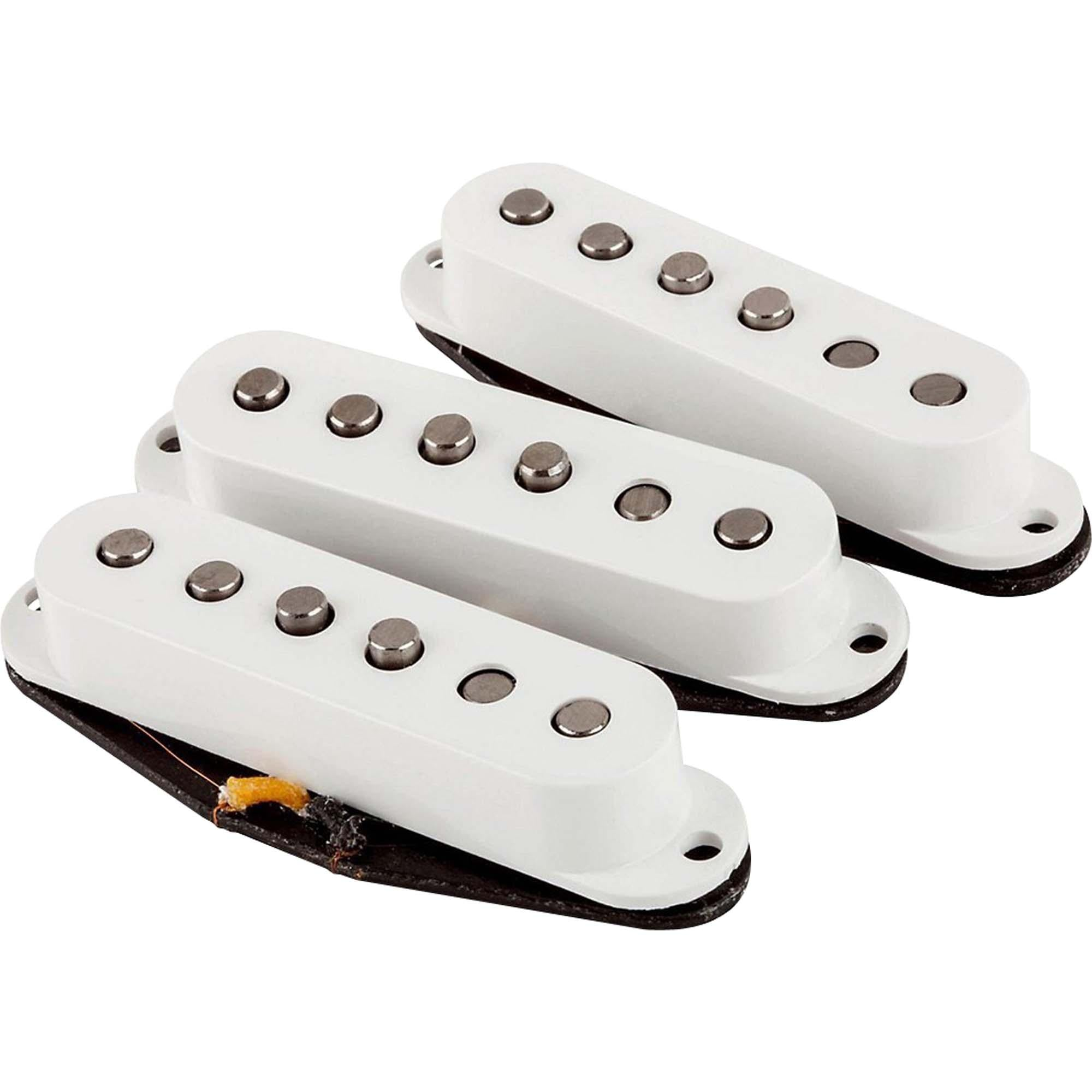 Set de Captadores Para Guitarra FAT '50 STRAT Branco FENDER - MagazineInnovar