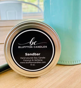 Tin Can | Sandbar | Coconut & Verbena 8 oz.