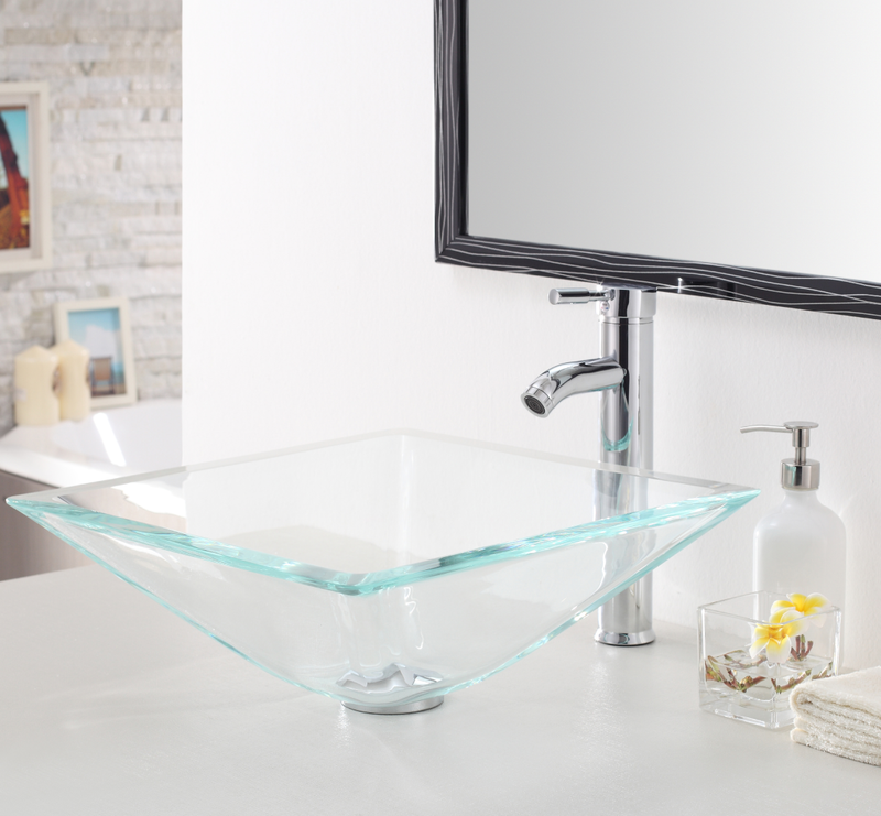 Rectangle Glass Sink 523097