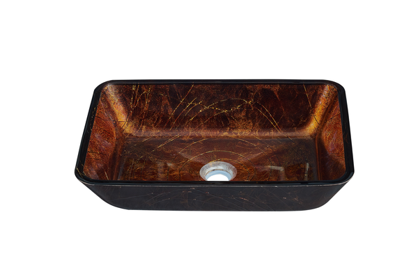 Antique Copper Glass Sink