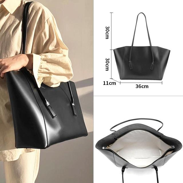Glamour Stitch 52004022-3 Women Bag 2020 Luxury Vintage Bucket Fashion Shoulder Bag Set Big Crossbody Messenger PU Leather Bags for Women Large Capacity