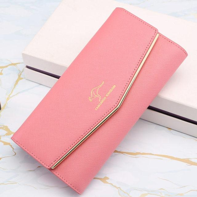 Glamour Stitch pink 2 Casual Clutch Bags