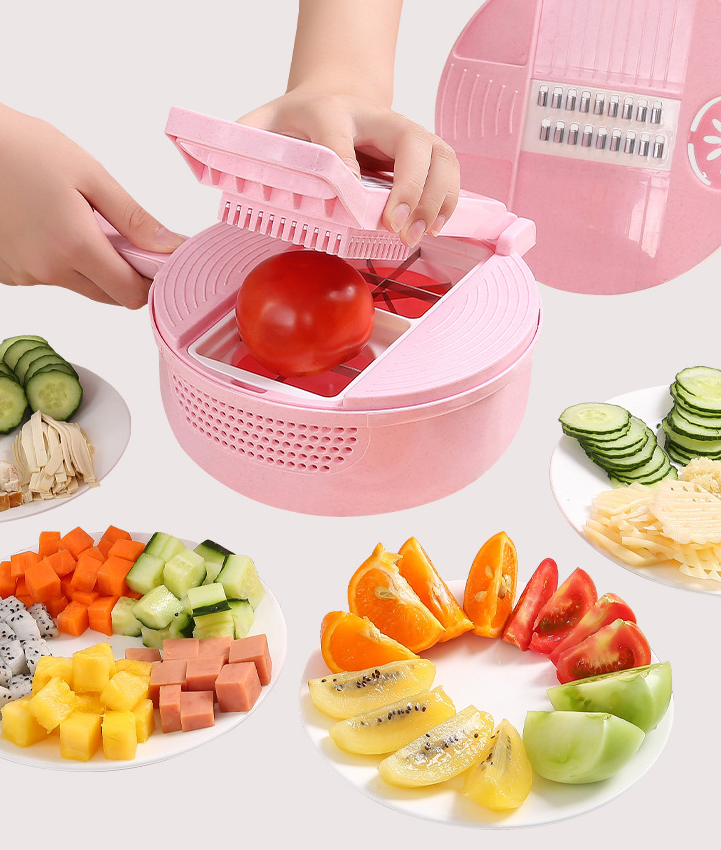 Multi-functional Vegetable Dicer