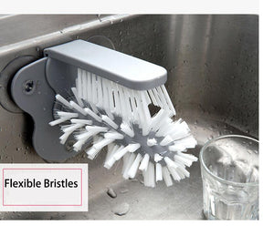 Suction Cleaning Brush
