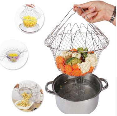 Collapsible Frying basket