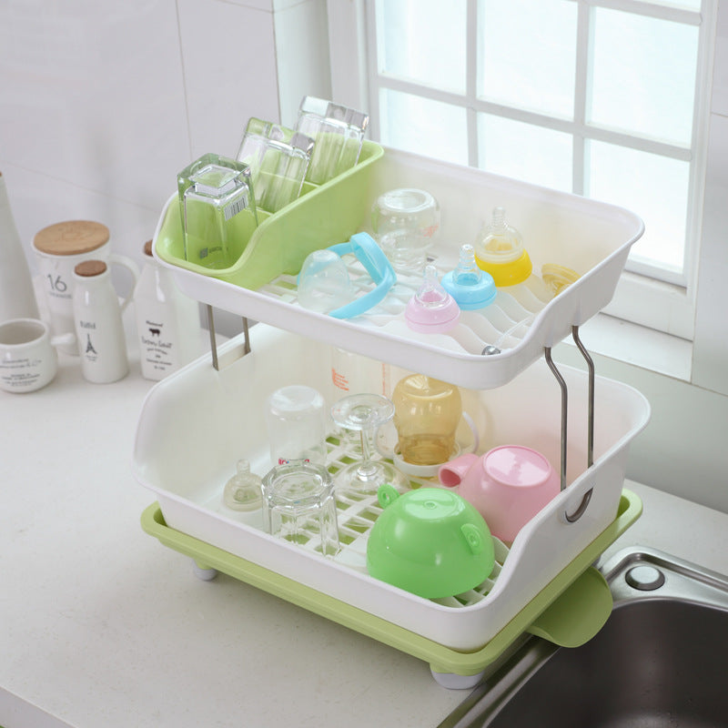 Stylish Dish Draining Rack