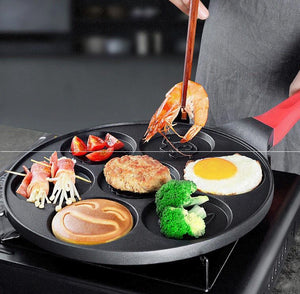 Smiley Breakfast Griddle-7 holes