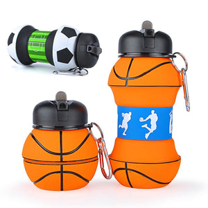 Sports lovers fold-able water bottle