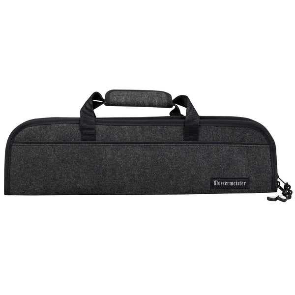 Messermeister 5 Pocket Charcoal Felt Knife Roll