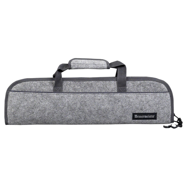 Messermeister 5 Pocket Heather Felt Knife Roll