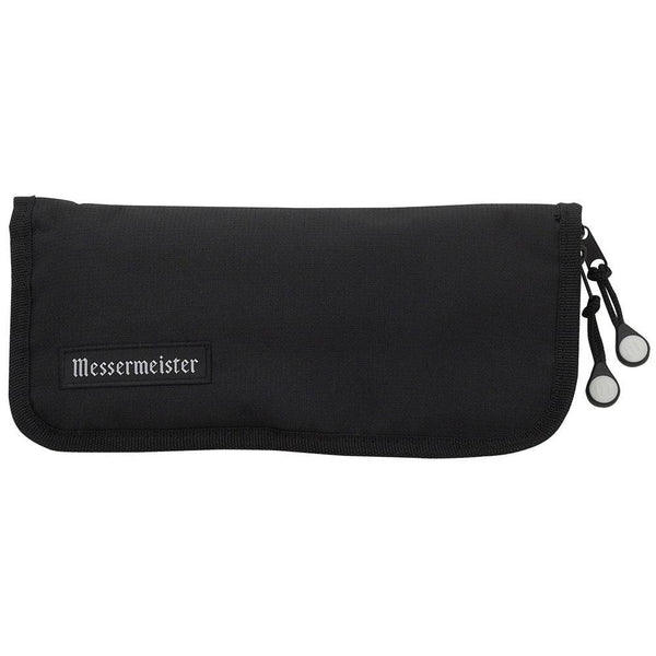 Messermeister 6 Pocket Black Nylon Steak Knife Roll