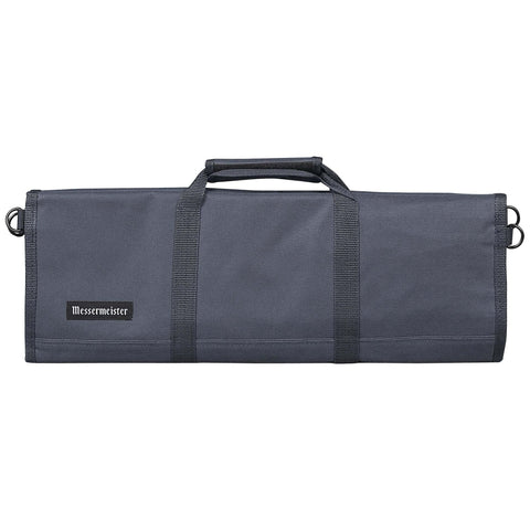 Messermeister 12 Pocket Gray Nylon Knife Roll