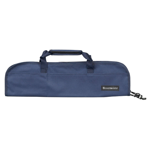 Messermeister 5 Pocket Navy Nylon Knife Roll