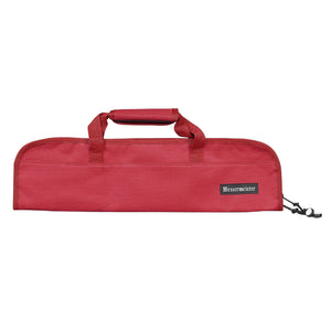 Messermeister 5 Pocket Red Nylon Knife Roll
