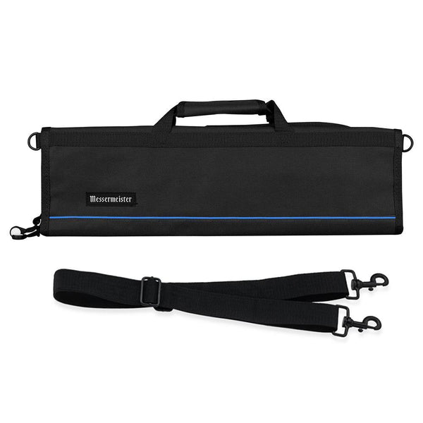 Messermeister 8 Pocket Black Nylon Knife Roll