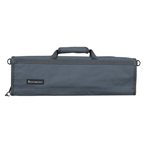 Messermeister 8 Pocket Gray Nylon Knife Roll