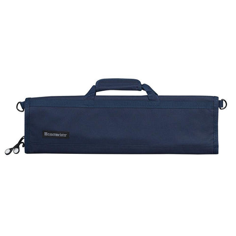 Messermeister 8 Pocket Navy Nylon Knife Roll