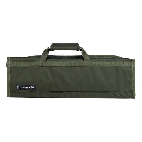 Messermeister 8 Pocket Olive Nylon Knife Roll