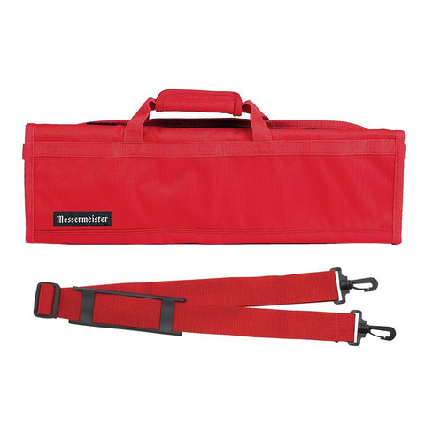 Messermeister 8 Pocket Red Nylon Knife Roll
