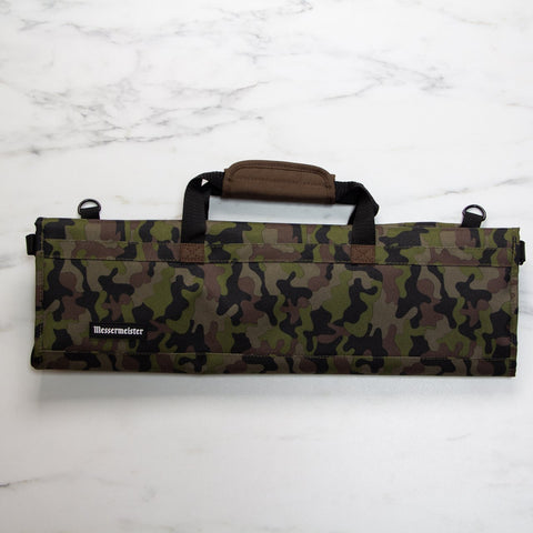 Messermeister 8 Pocket Camouflage Nylon Knife Roll