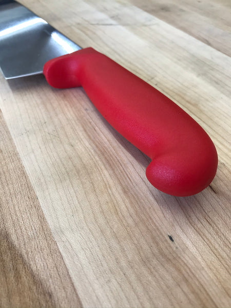 "PEC San Mateo 10"" Chef's Knife w/ Red Handle"