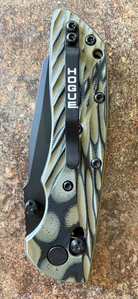 Hogue 24268 Deka Wharncliffe Green G10 Folder
