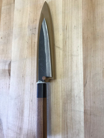 Kikuichi Kurouchi Carbon Steel 150mm Petty w/ Saya