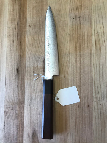 Kikuichi Nickel Warikomi Damascus 150mm Petty