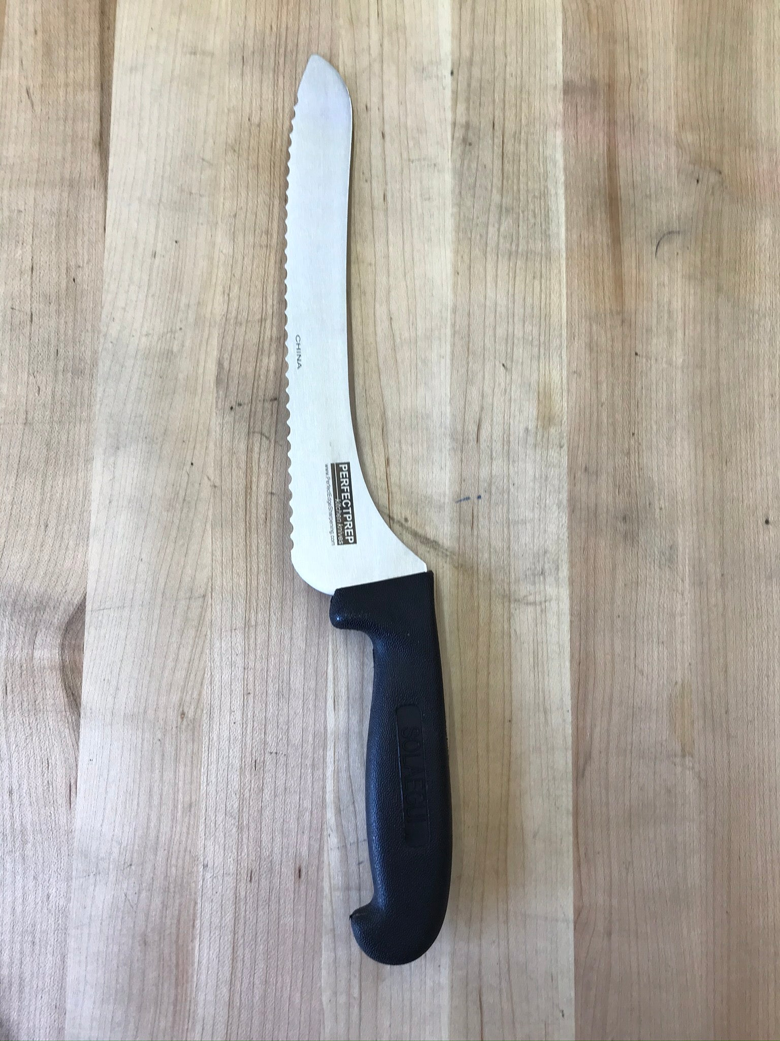 "PEC Perfect Prep 9"" Offset Bread Knife"
