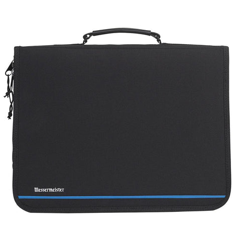 Messermeister 23 Pocket Black Nylon Portfolio Bag