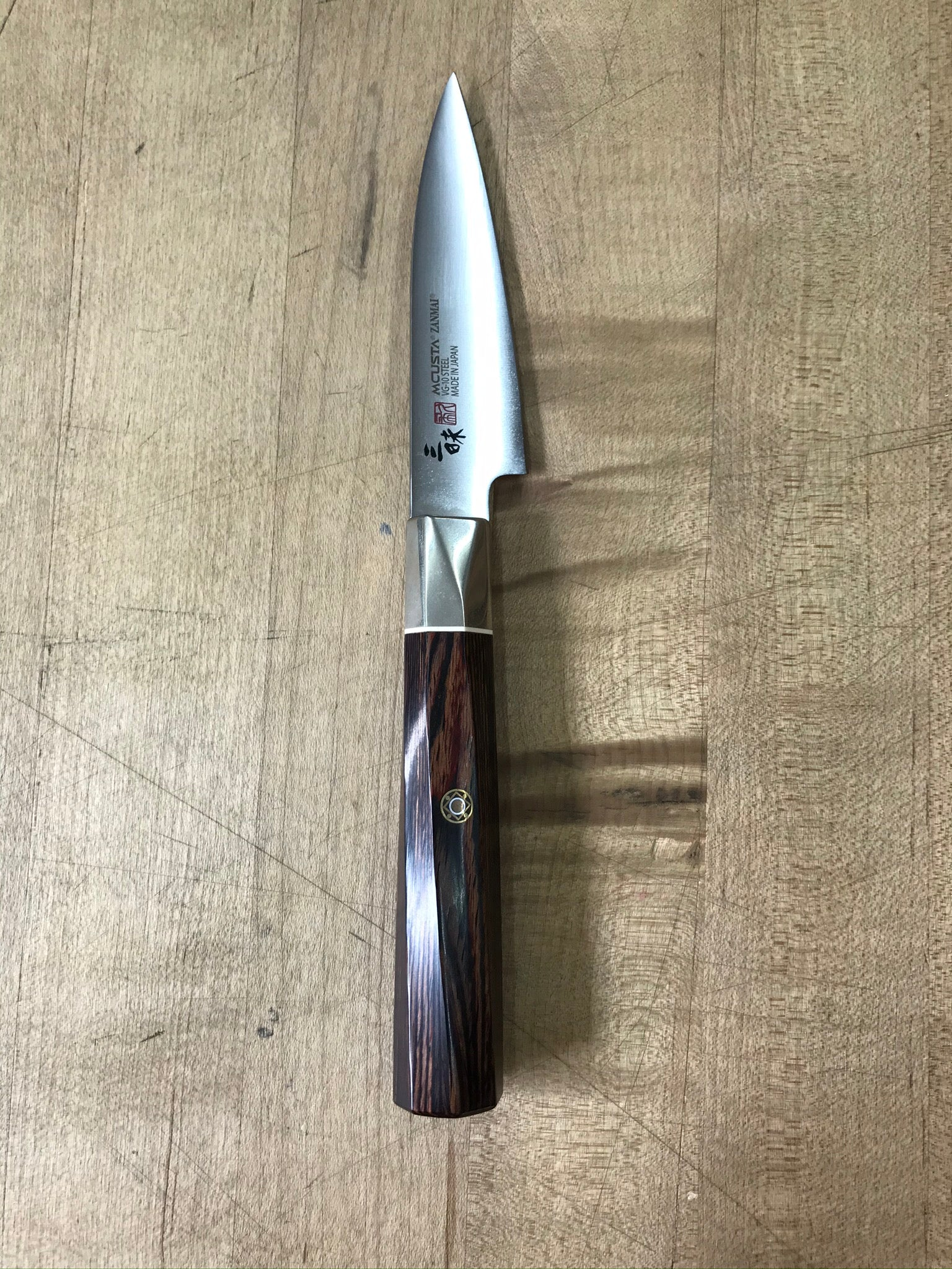 Mcusta Zanmai Supreme Twisted 90mm Petty