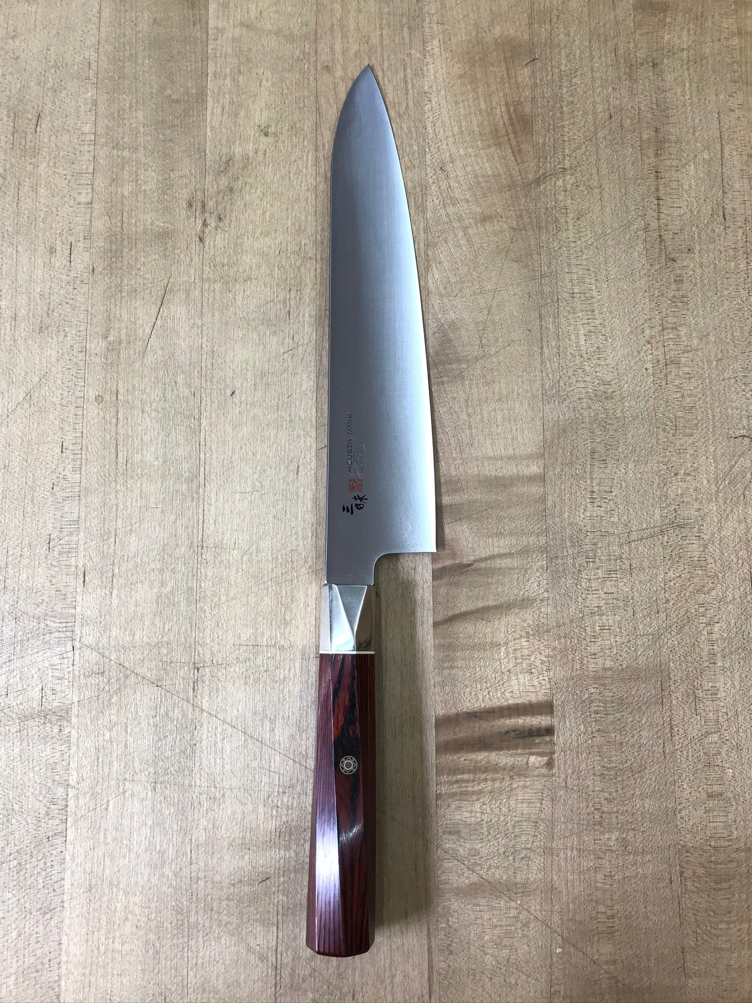 Mcusta Zanmai Supreme Twisted 210mm Gyuto