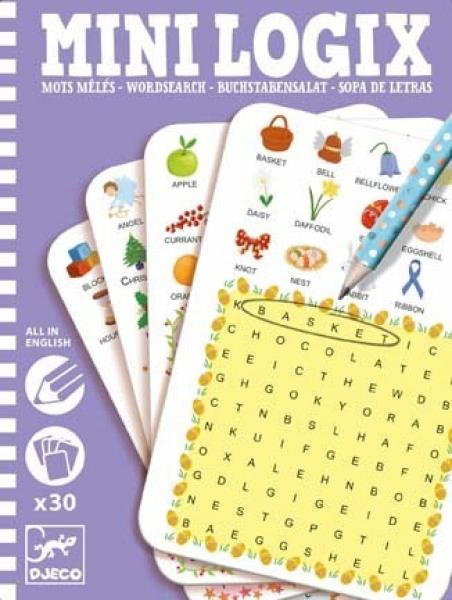 Djeco Mini Logix Wordsearch English
