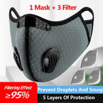 Training Mask w/ Removable Filters