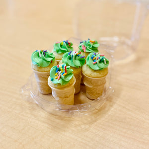 Mini Ice Cream Cone Pupcakes (add-on)