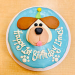 Load image into Gallery viewer, Doggy Face Cake
