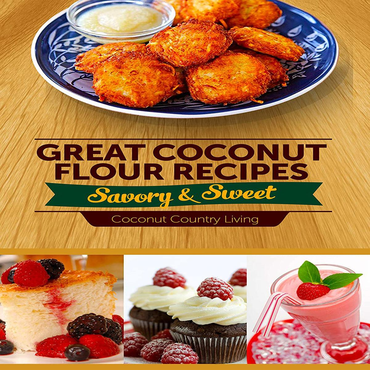 CCL Organic Coconut Flour - Gluten-Free, Raw, Keto, Paleo Friendly - Free E-Book - USDA - USPS Shipping