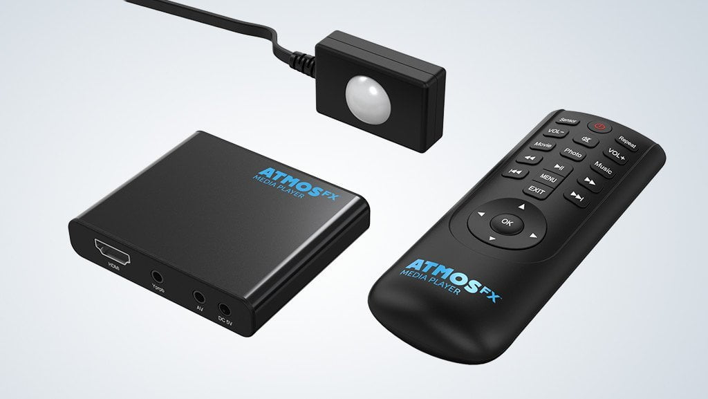 The AtmosFX® Media Player and