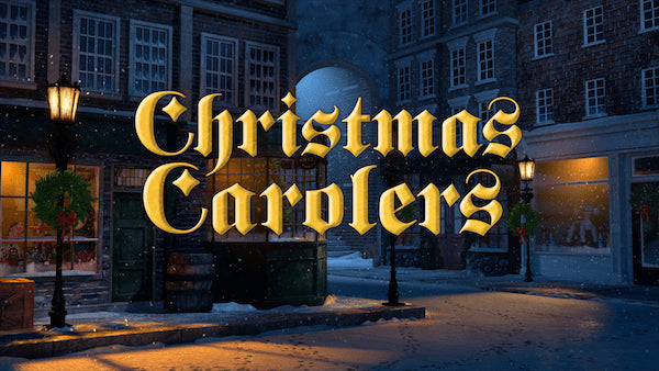 Bring These Christmas Carolers Home | AtmosFX