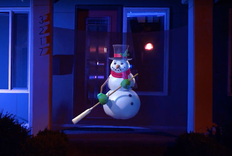 How to Entertain Guests With 'Enchanted Snowman' | AtmosFX